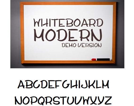 whiteboard-modern-demo-free-high-quality-font-web-design